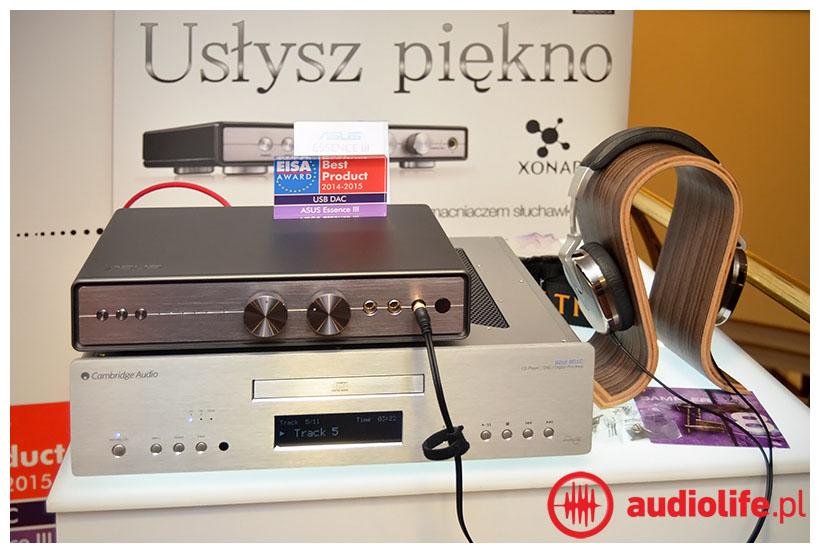 Assus Essence wzmacniacz słuchawkowy