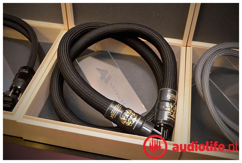 Artech the boss - kabel zasilający audio