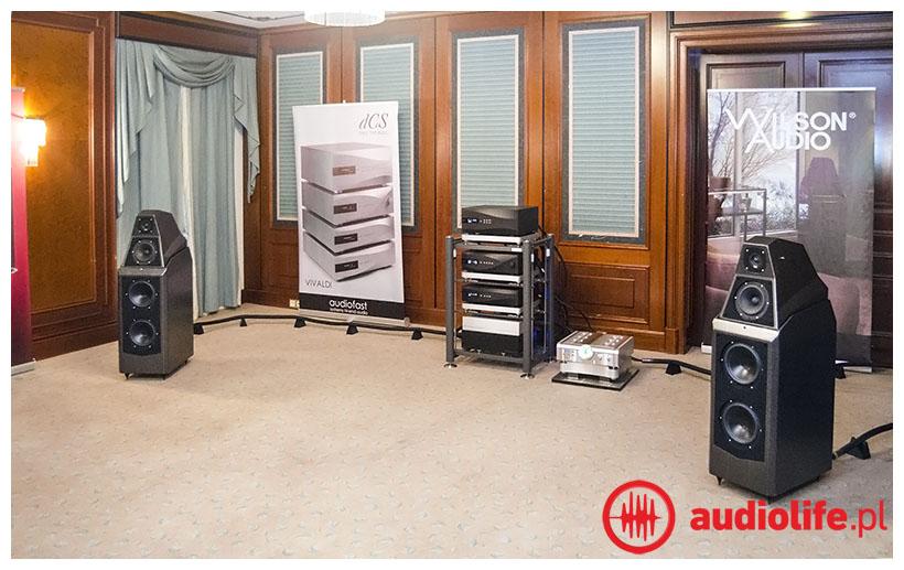 System Audio - Wilson Audio, Synergistic Research, Dan Dagostono, DCS