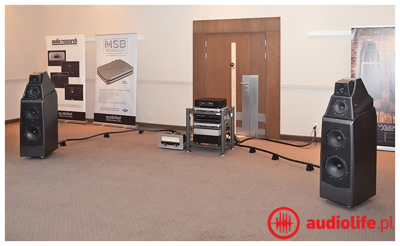 System Audiofast, Aurender, MSB, Audio Research, Wilson Audio