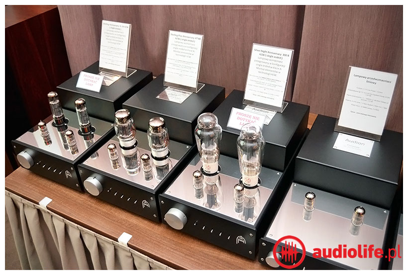 komponenty lampowe Audion