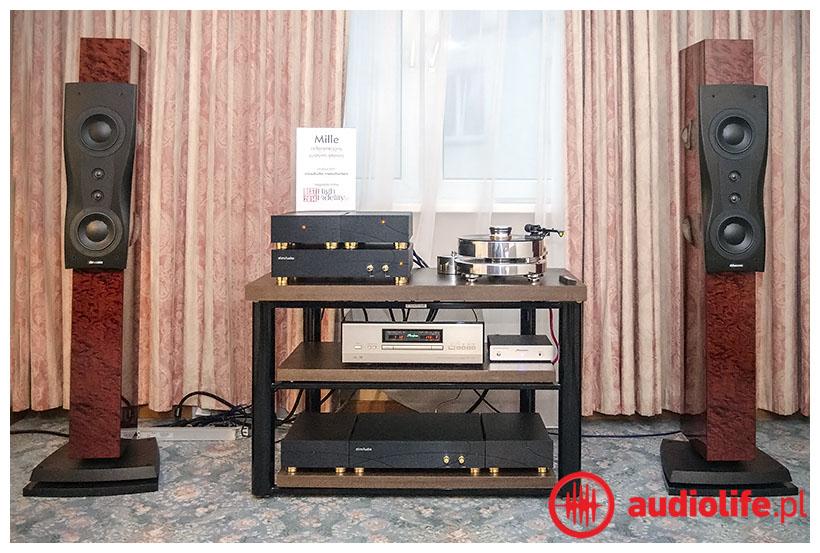 Elins Audio - Mille + dynaudio