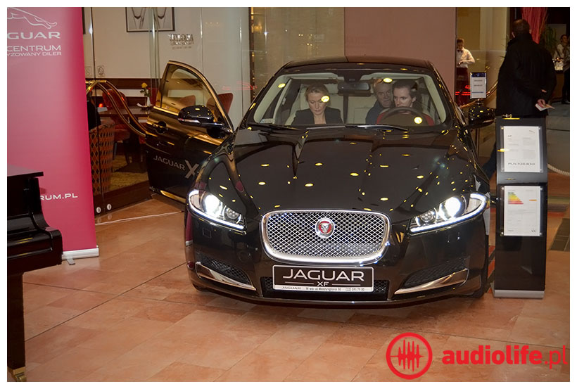 Jaguar - system Meridian