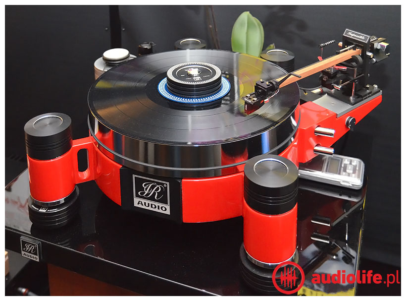 jr audio turntable