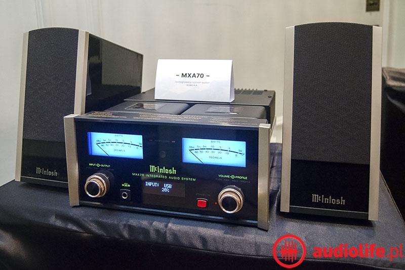 System mini - Mcintosh MXA 70