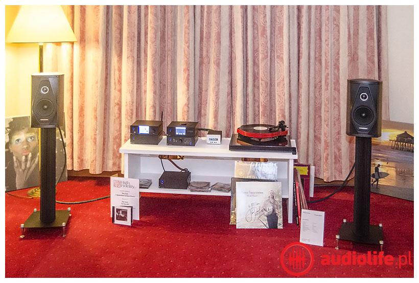 Sonus faber kolumny, gramofon project