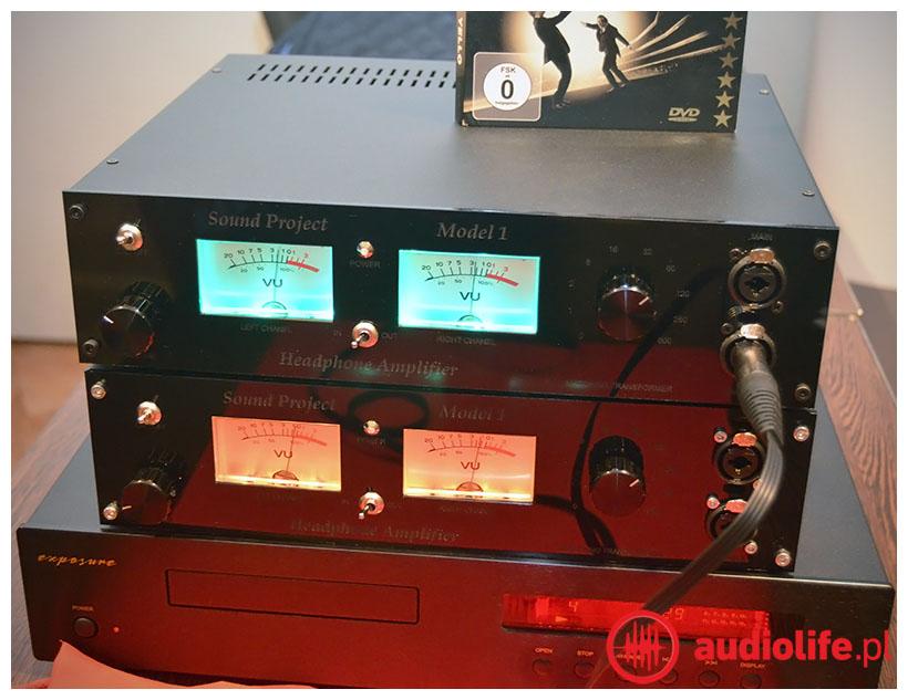 Sound Project - wzmacniacz słuchawkowy model 1