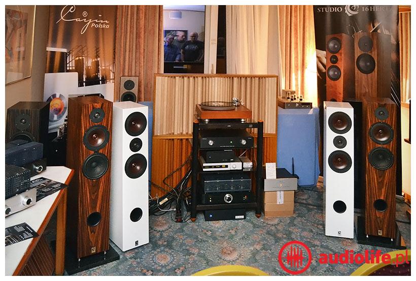 Kolumny studio 16 Hz