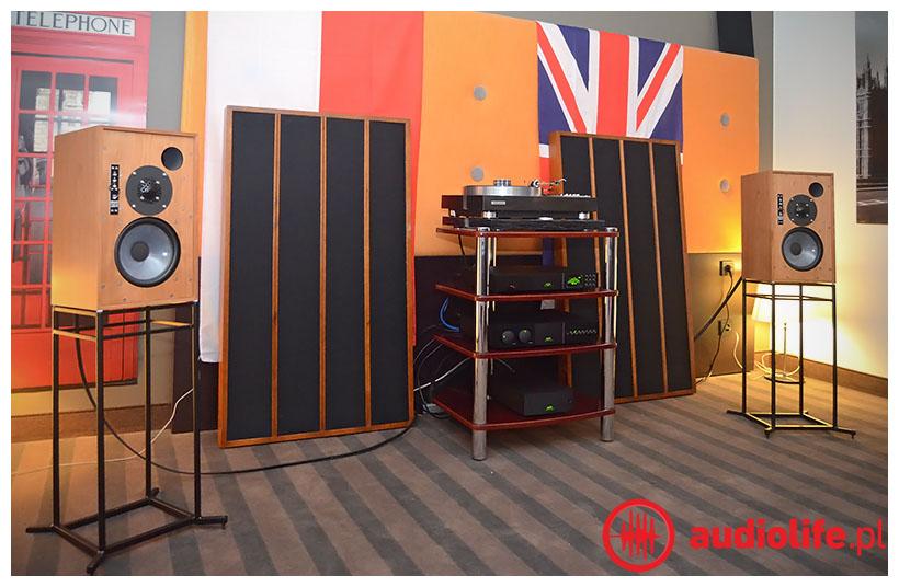 Kolumny Graham Audio i system Naim