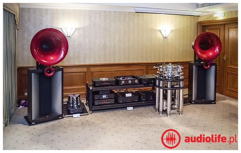 gramofon transrotor, elektronika ayon, kolumny avantgarde