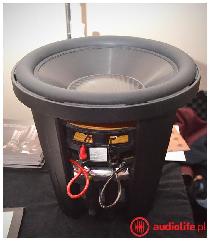 Głośnik Basowy używany w konstrukcjach Zeta Zero
