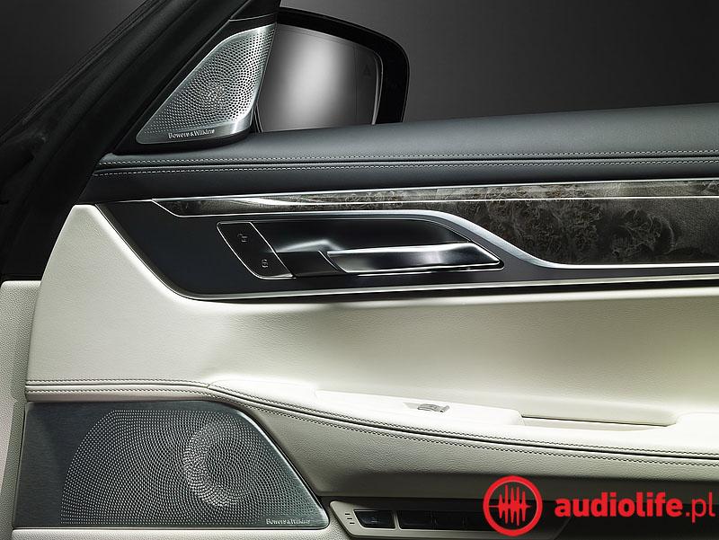 System nagłaśniający B&W BMW Serii 7